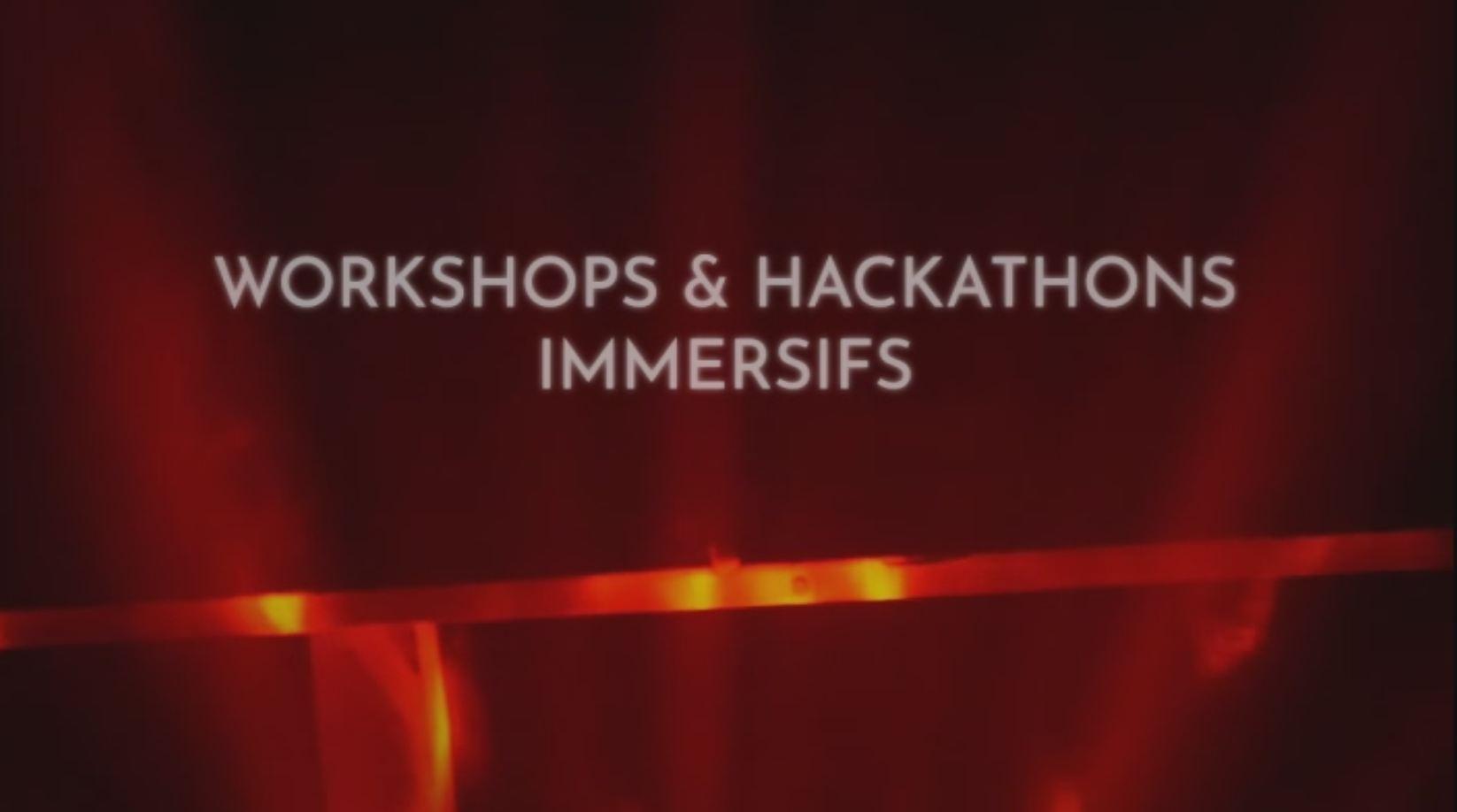 Immersive workshop hackathon