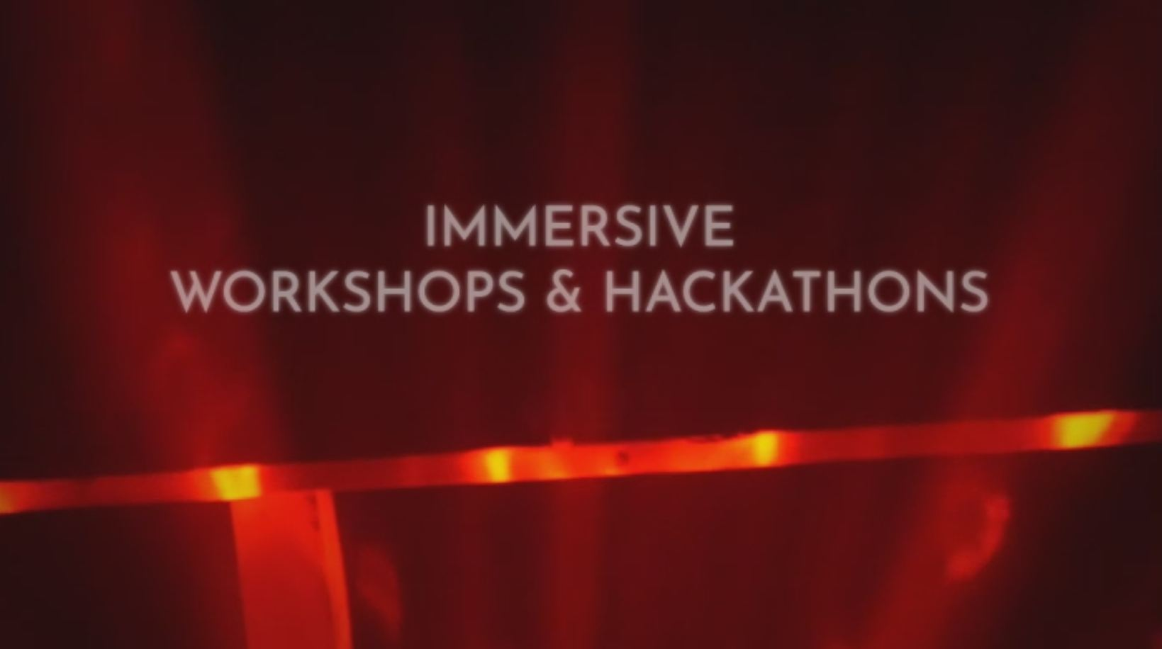 Immersive workshop hackathon